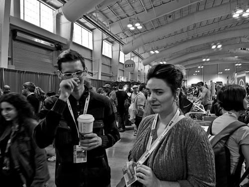 NYCC 2012: At least Neil thinks I'm funny. | by Kevin Church