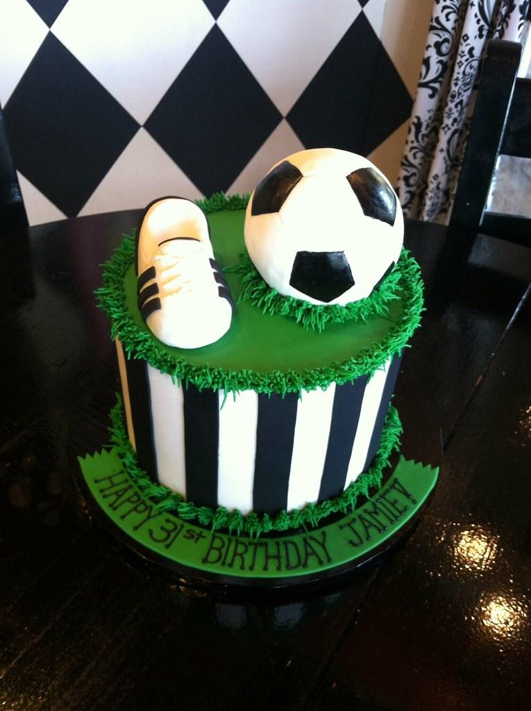 English Themed Birthday Cake