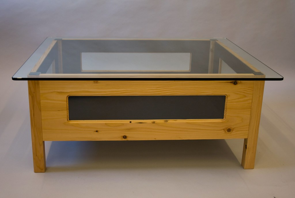 Display cabinet and coffee table | This coffee table was ...