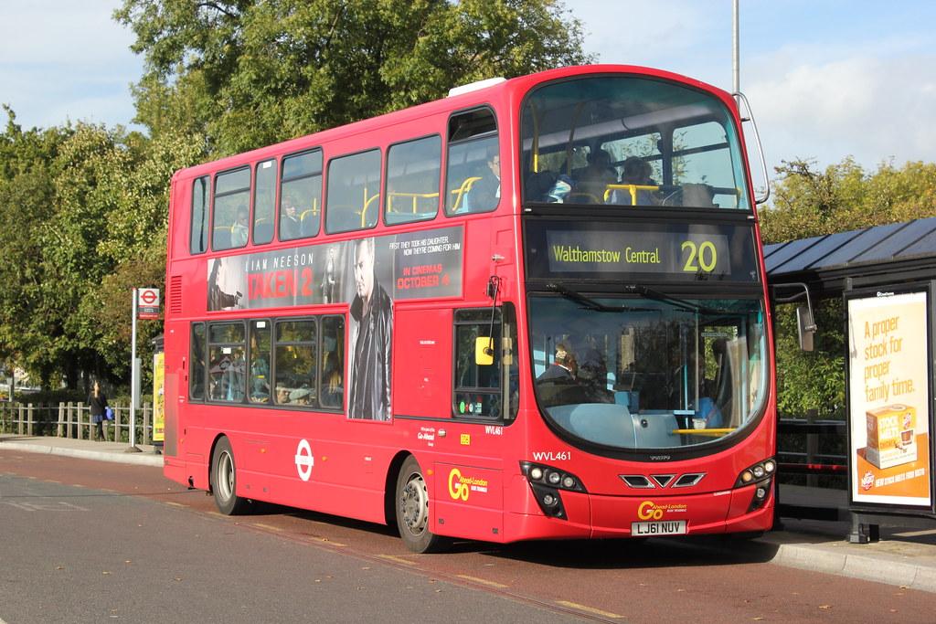 Go Ahead London . Blue Triangle Buses . WVL461 LJ61NUY . L… | Flickr