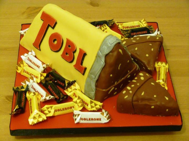 How To Make Toblerone Cake