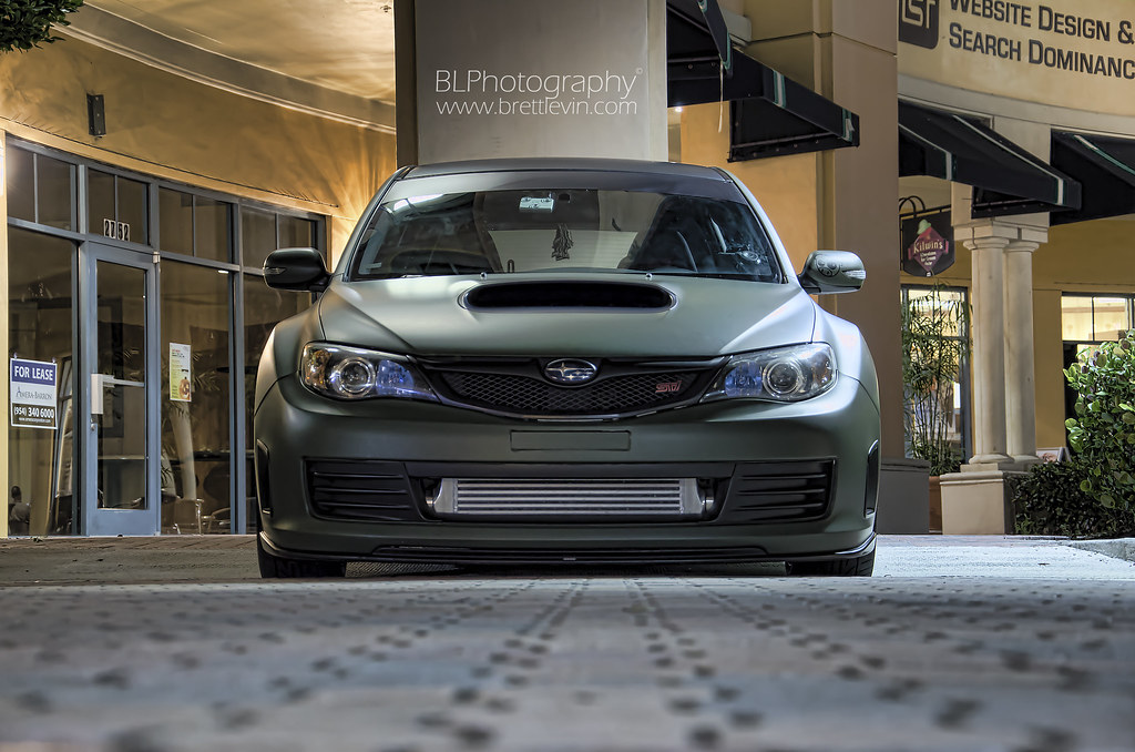 2008 Subaru Impreza Wrx Sti Had A Shoot On A 2008 Subaru