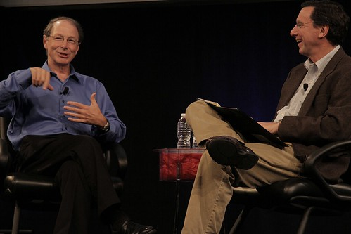 Rick Rashid and John Markoff | by IntelFreePress