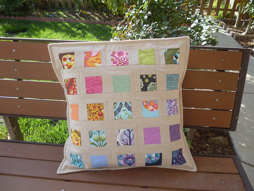 Windowpanes Pillow | by fabricmutt