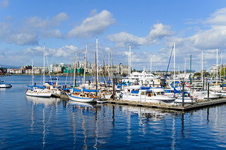 The gorgeous inner harbour at Victoria, BC. | by MichellePetersJones