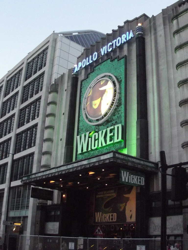 Wicked Apollo Victoria Theatre Victoria London Wilt