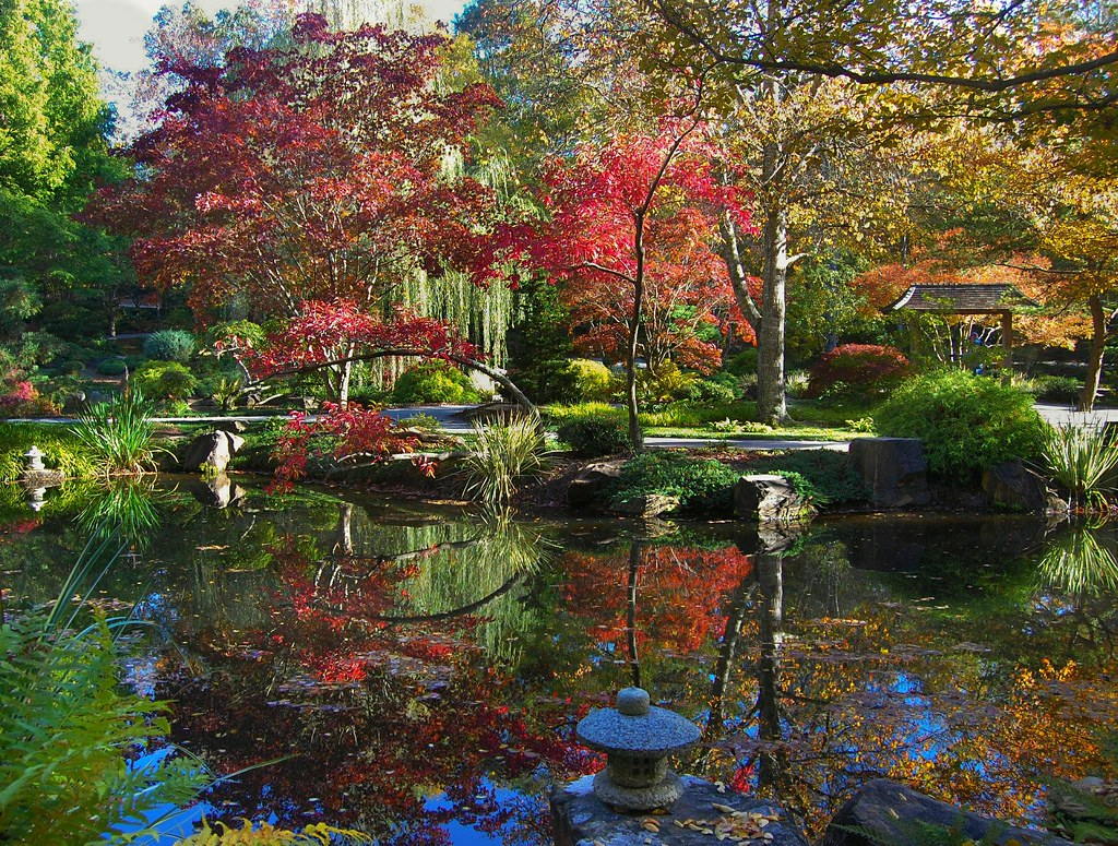 October Morning at Gibbs Gardens, Ball Ground, Georgia | Flickr