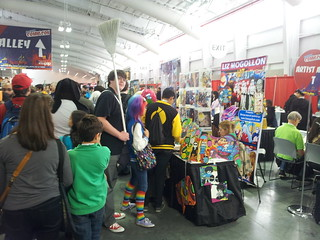 New York Comic Con Artist alley 2012 | by lizmogollon