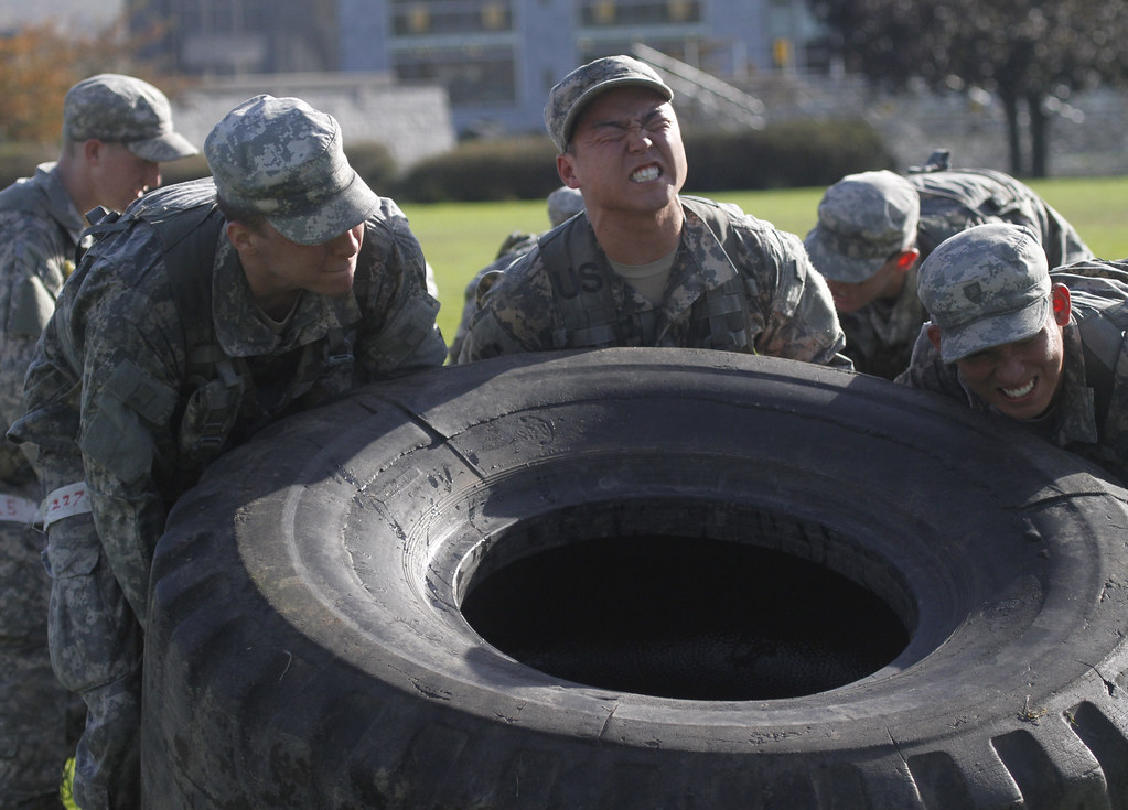 tire flip roughly  cadets   class    cl flickr