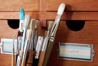 brushes | by Geninne