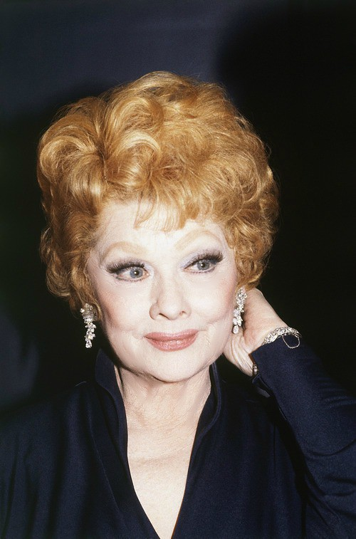 Mature Lucy Lucille Ball In The Late 1970 S Lucy Fan