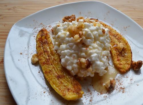 Cottage Cheese Banana Cake Recipe