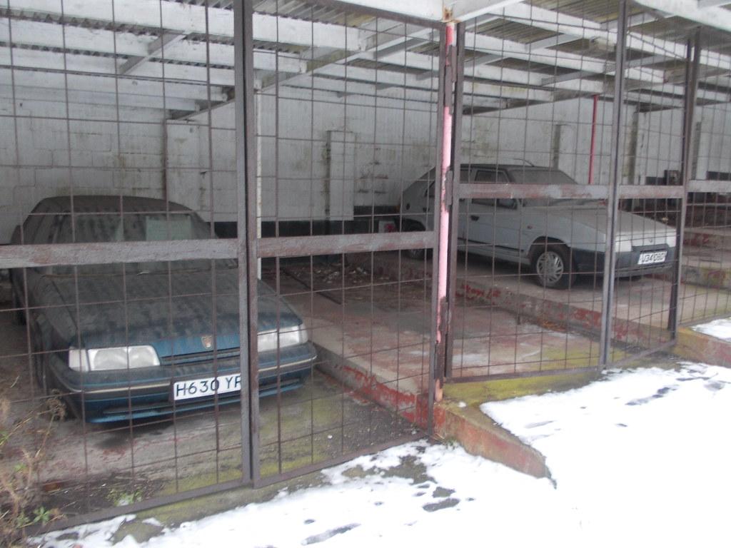 Abandoned Car Dealership Uk