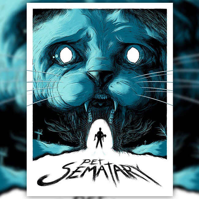 Matt Johnson Pet Sematary Print