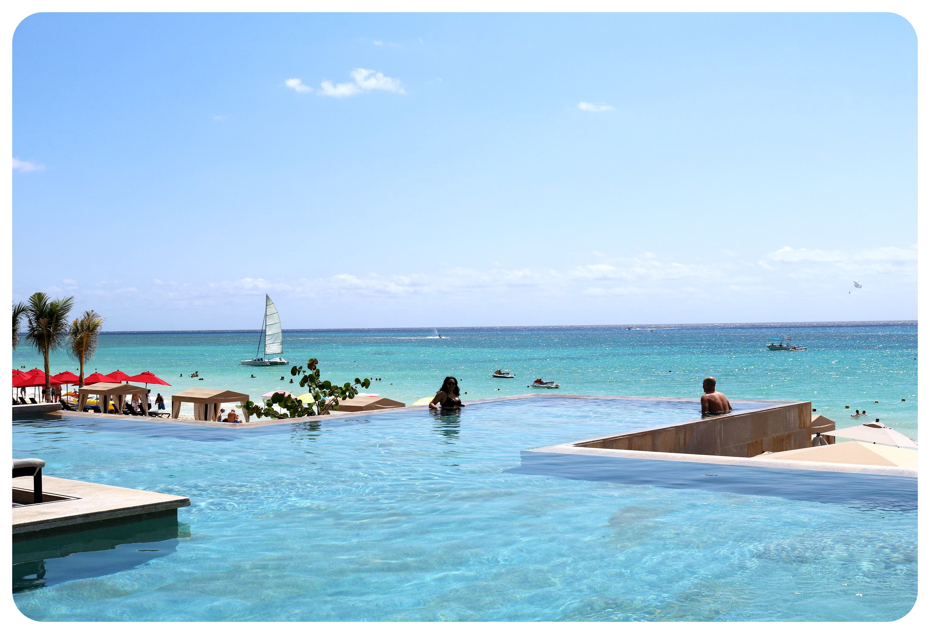 grand hyatt playa del carmen infinity pool maya