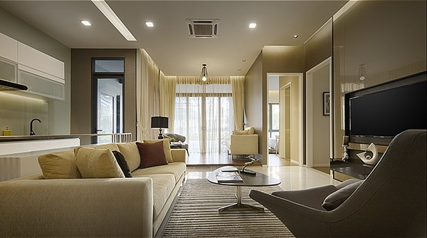 Bennington Residences - Living Room