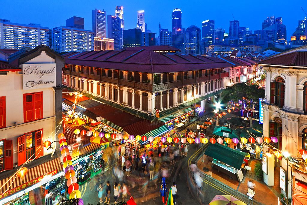 Imagini pentru Singapore Chinatown
