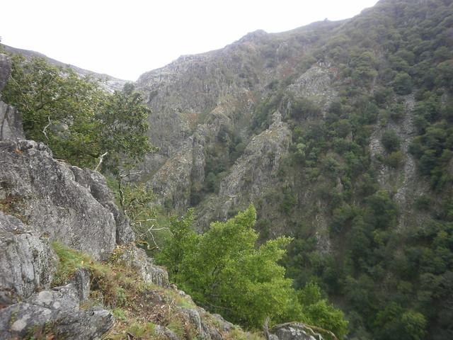 Cañón del Eume en la Ruta por el Cañón del Eume