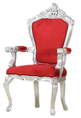 Delicieux ... 8251 RED QUEEN CHAIR | By Diva Rocker Glam (844) 448 0888