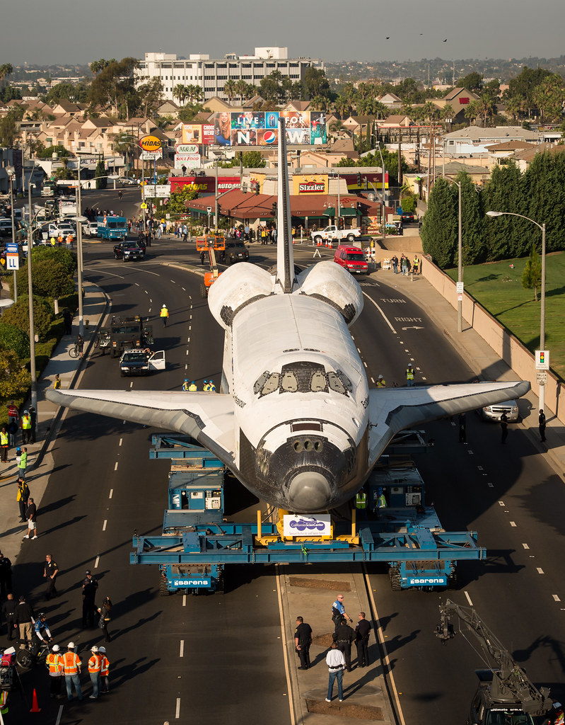 Space Shuttle Endeavour Move 201210130007hq The Space