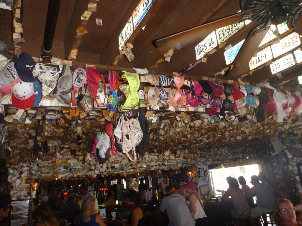 Bras Hanging On Capt Tony S Bar Ceiling In Key West Flickr