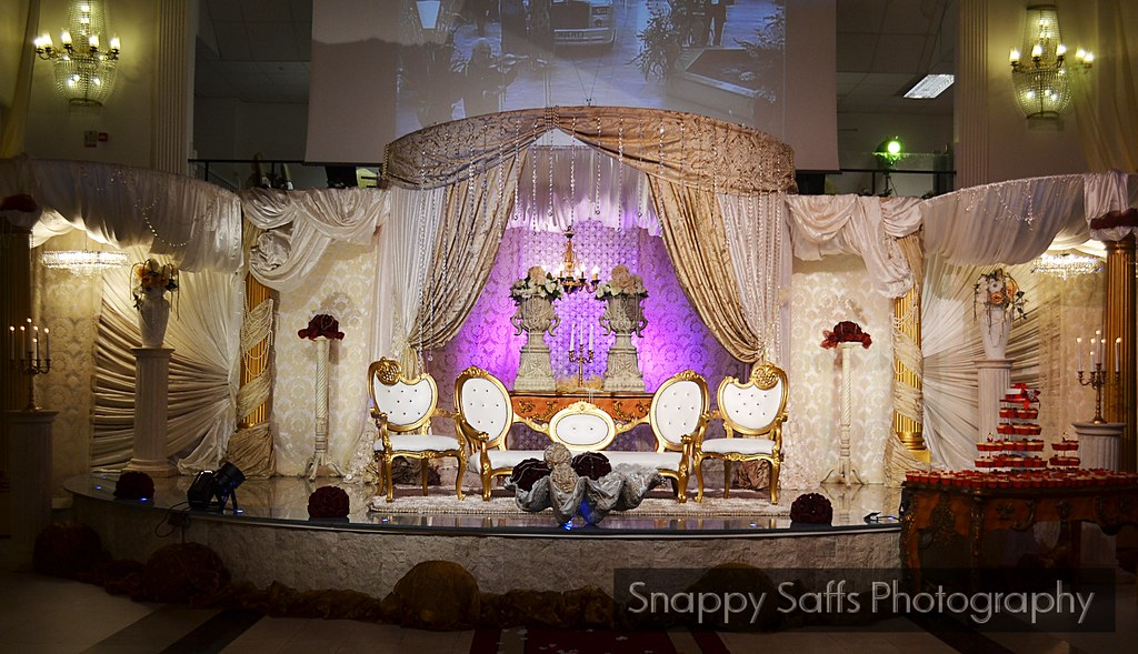 Wedding hall stage decoration bolton excellency flickr for Latest wedding hall decoration
