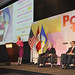 "UN Women Executive Director Michelle Bachelet delivers remarks at the event ""Power: Women as Drivers of Growth and Social Inclusion,"" in Lima, Peru"