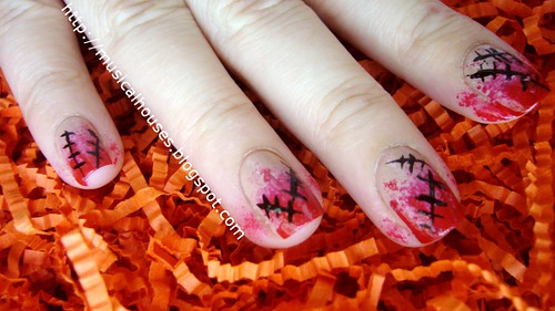 halloween nails scary nail art 3 | by musicalhouses