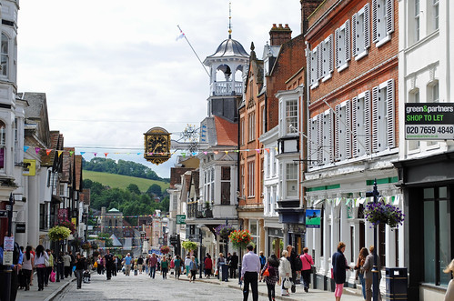 Guildford High Street ...