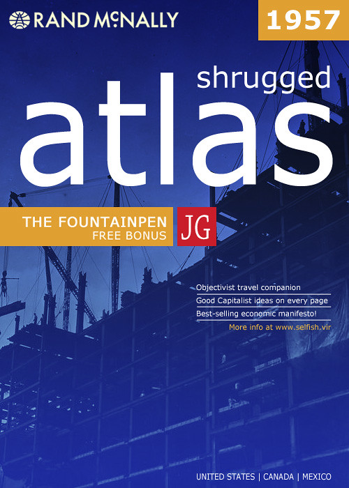 atlas shrugged book report Atlas shrugged was the last novel by ayn rand it was published in 1957 by the world's largest book publisher random house  in this lengthy and philosophical novel of ayn rand you will also find romance , suspense and science fiction .