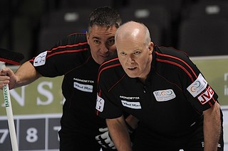 Penticton B.C.Jan12_2013.World Financial Group Continental Cup.Team North America skip Glenn Howard,third Wayne Middaugh.CCA/michael burns photo | by seasonofchampions