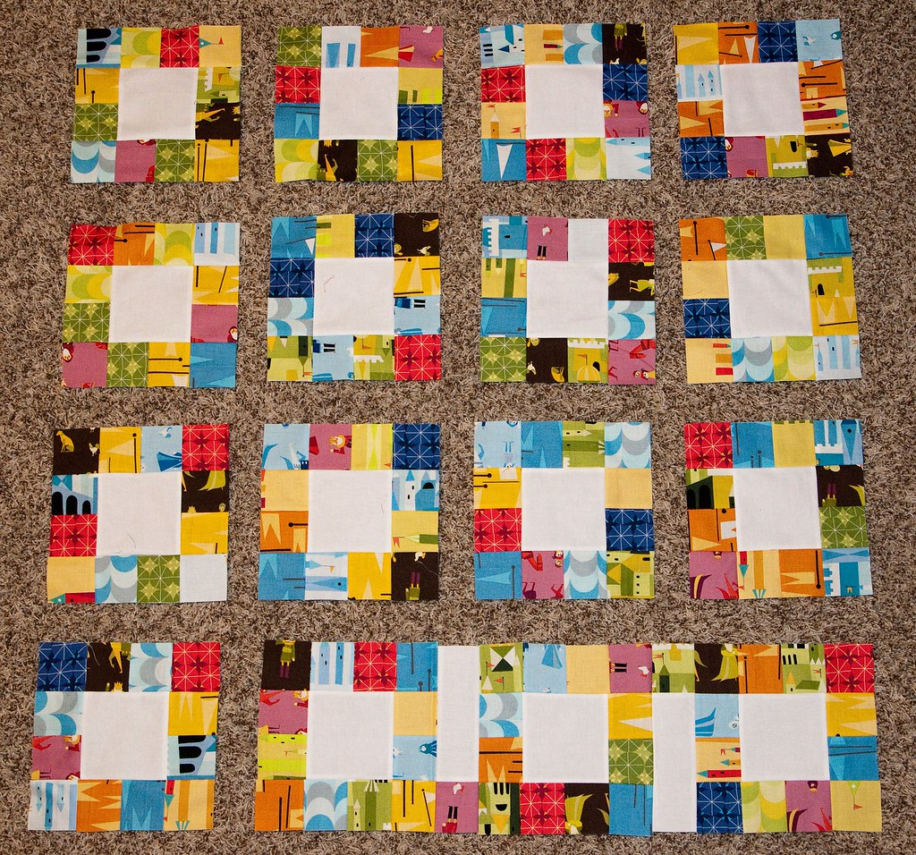 Pattern Testing Lucky Squares Quilt