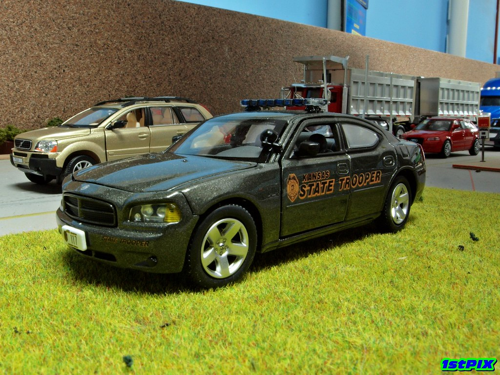 kansas highway patrol dodge charger