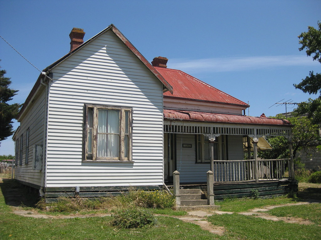 A Late Victorian Weatherboard Villa Korumburra Sadly