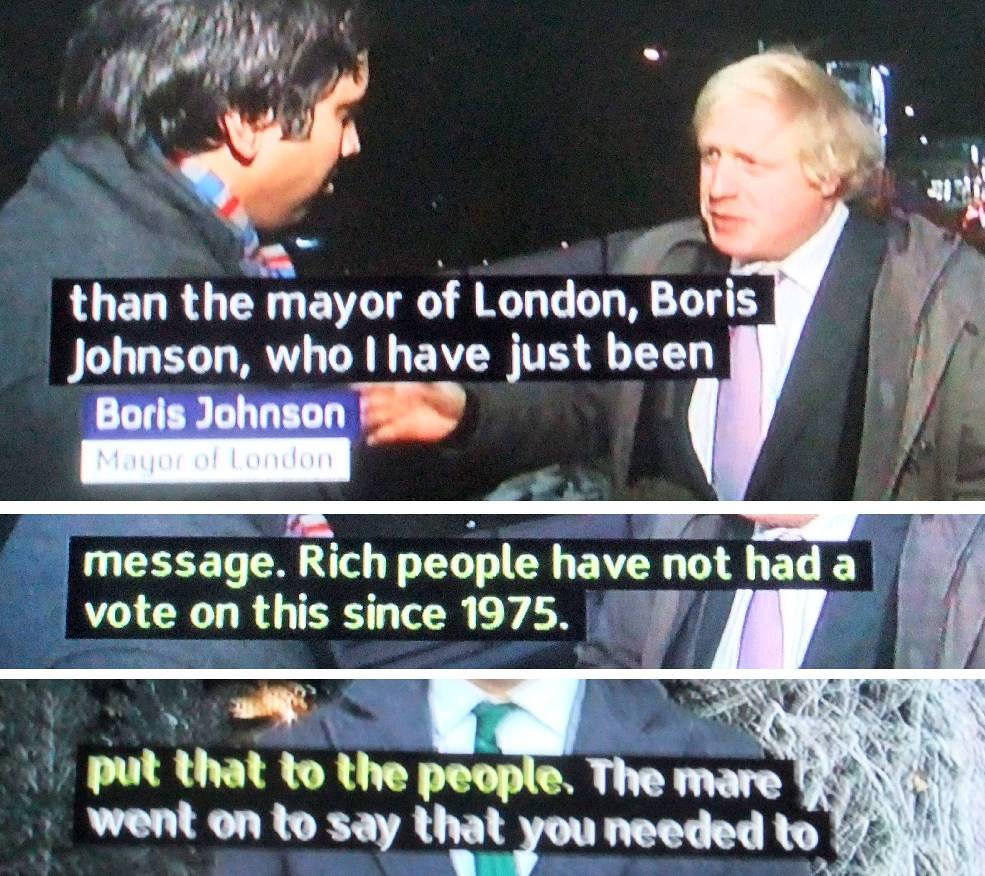 Boris Johnson On Immigration