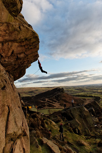 Paralogism E7 6c at the Roaches, Staffordshire. | by turner_andi
