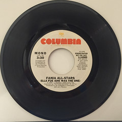 FANIA ALL-STARS:ELLA FUE(SHE WAS THE ONE)(RECORD SIDE-A)