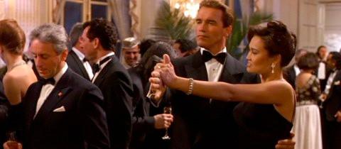 Detalhe de uma das cenas de tango do filme True Lies
