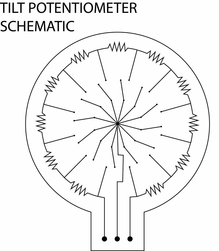 TILT POTENTIOMETER SCHEMATIC | by Plusea TILT POTENTIOMETER SCHEMATIC | by  Plusea