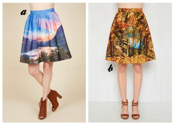 modcloth skirts