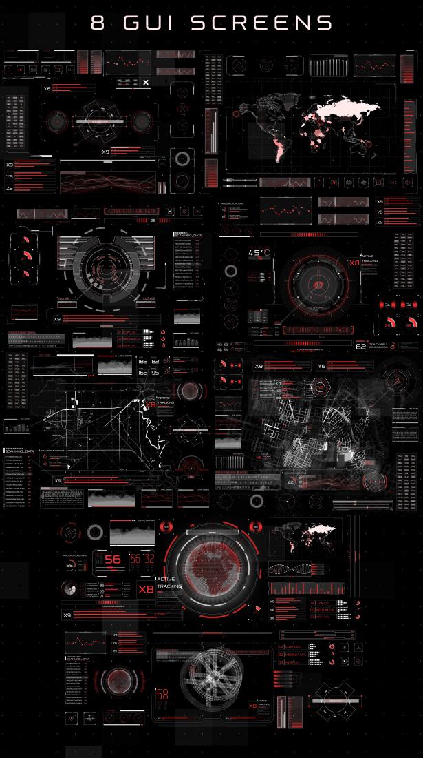 29314567995_f1901d016c_o AE模板:HUD高科技信息图表元素合集 HUD Infographic(免费下载)