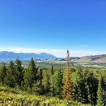 It's easy to fall in love with Jackson, Wyoming on a day like today!