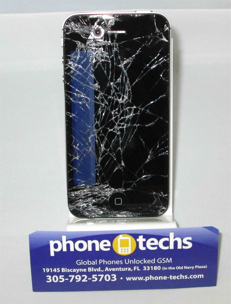 fixing cracked iphone screen verizon
