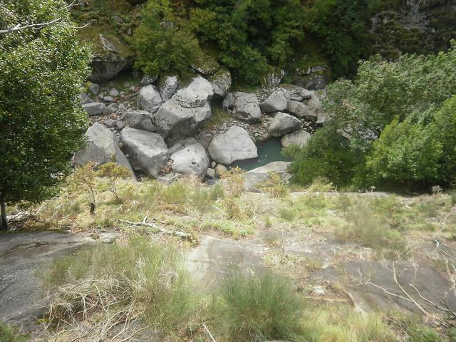 Barranco en la Ruta por el Cañón del Eume