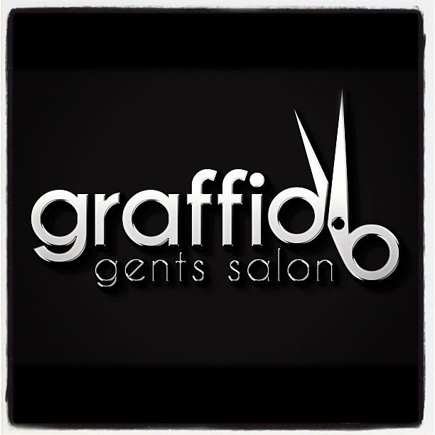 Graffio gents salon dubai logo design salon gents desi for 7 shades salon dubai