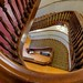 Walnut staircase, Chase County Courthouse