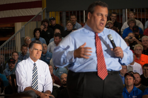 Romney and Christie in Mount Vernon-9 | by Brett Marty
