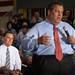 Romney and Christie in Mount Vernon-9