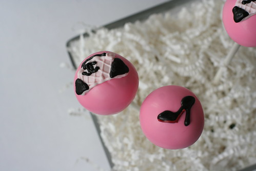 Cake Pops Fit for a Fashionista | by Sweet Lauren Cakes