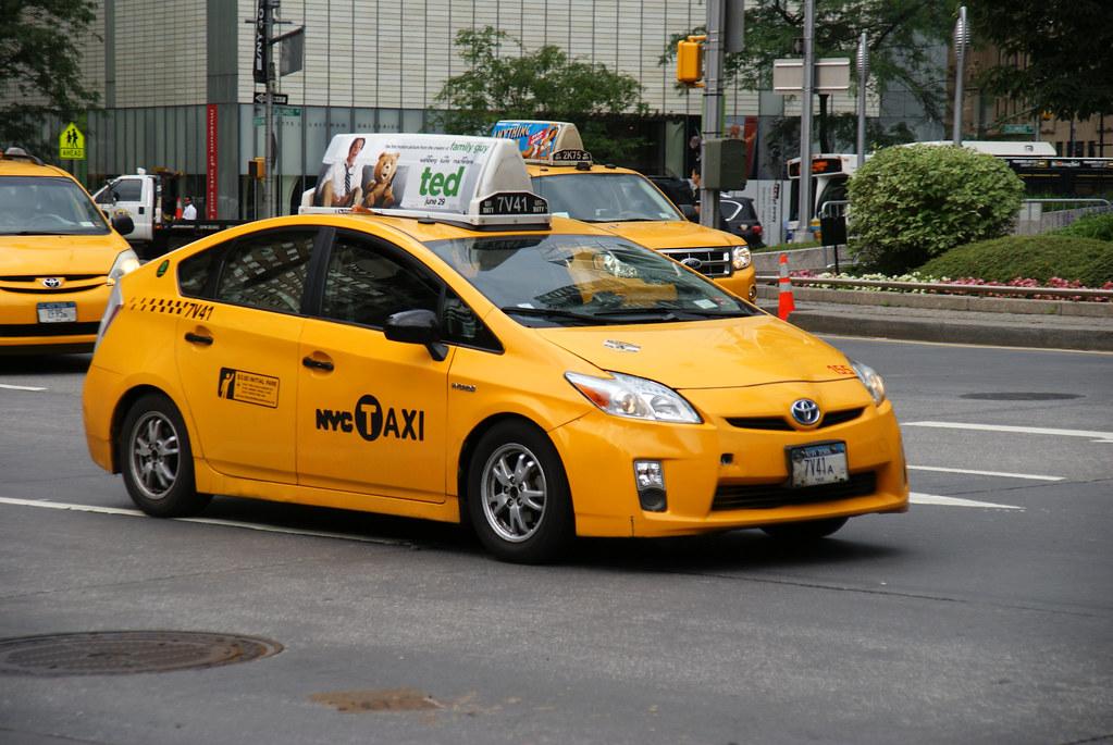 Nyc Taxi Toyota Prius New York City Taxi Ray Kippig